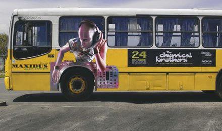 Необычная автобусная реклама. Изображение № 16.