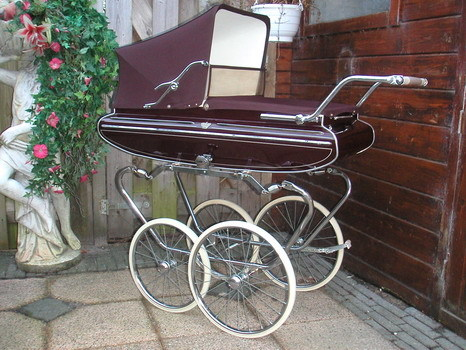 Ретро – kinderwagen, stroller илидетская коляска. Изображение №11.