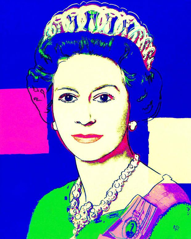 Работы Энди Уорхола попали в коллекцию Елизаветы II. Изображение № 1.
