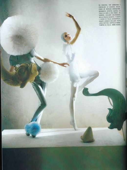 A Magic World (Vogue Italia January 2008 ). Изображение № 5.