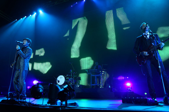 22 ноября вМоскве состоялся концерт A-ha. Изображение № 2.