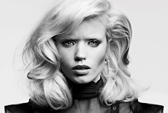 Изображение 1. Эбби Ли Киршоу для апрельского Vogue Russia.. Изображение № 1.