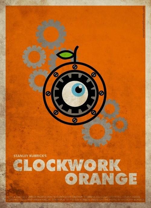 A Clockwork Orange - 20 кинопостеров на тему ультранасилия. Изображение № 1.