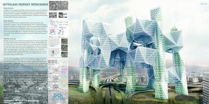 Архитектор предложила идею «объединяющих людей» небоскрёбов. Изображение № 2.
