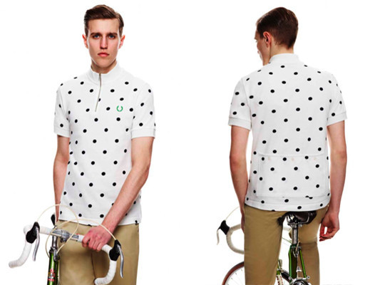 Fred Perry X Cycling Blank Canvas. Изображение № 4.