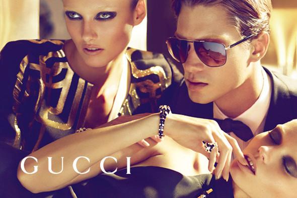 Кампания: Gucci SS 2012. Изображение № 15.