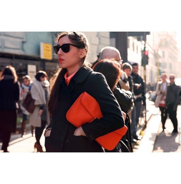 Изображение 59. На полях: 10 тенденций уличного стиля с прошедших недель моды.. Изображение № 59.