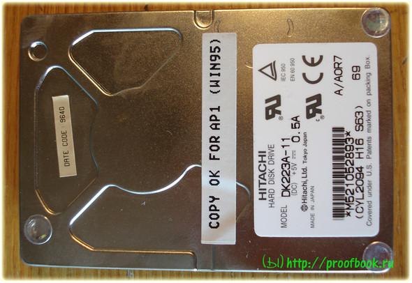 Ретро: Обзор ноутбука AcerNote Light 370DX 1996года. Изображение № 13.