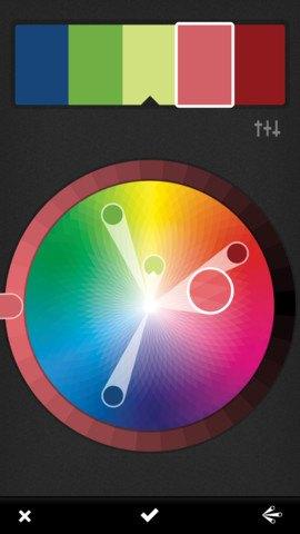 Приложение Adobe позволяет создавать цветовые палитры из фото. Изображение № 2.