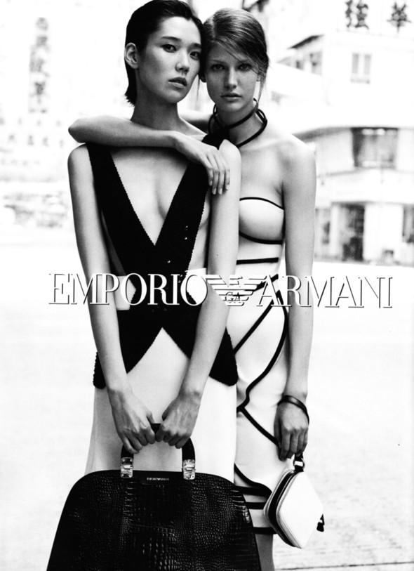 Превью кампаний: Dolce & Gabbana, Emporio Armani, Givenchy и другие. Изображение № 5.
