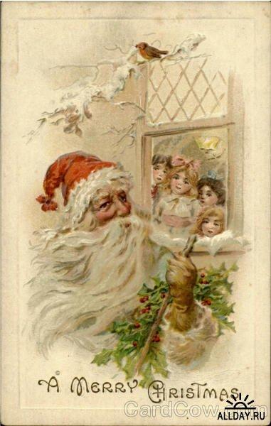 Новогодняя ирождественская открытка. Изображение № 3.