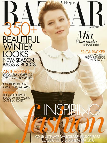 Изображение 2. Обложки: L'Officiel, Harper's Bazaar, Elle и другие.. Изображение № 2.