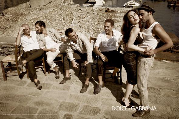 Кампания: Dolce & Gabbana SS 2012 Men. Изображение № 3.