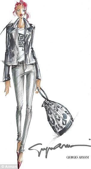 Рианна поработает дизайнером Armani. Изображение № 2.