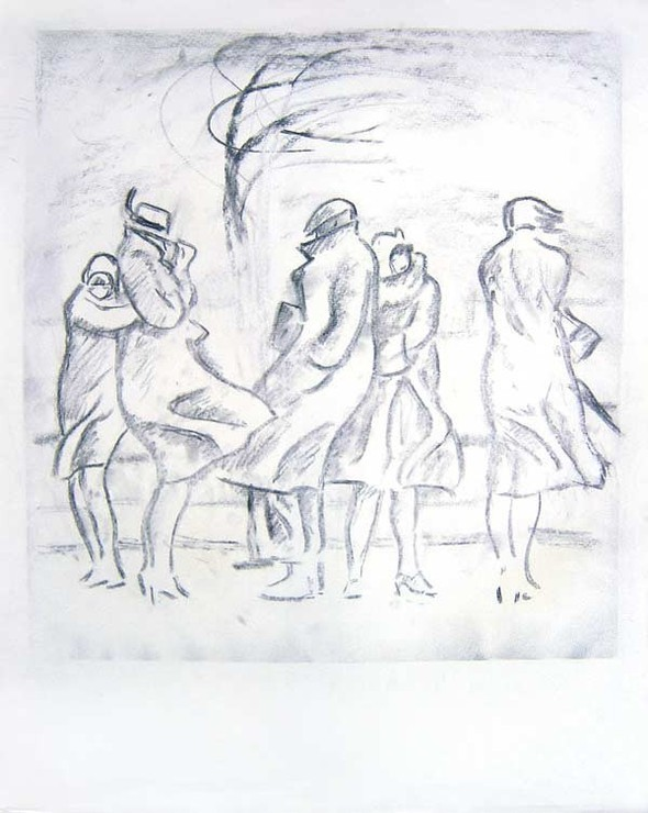 Леонид Сойфертис. рисунок, карикатура. Изображение № 15.