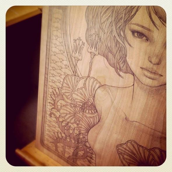 Новые работы Audrey Kawasaki. Изображение № 12.