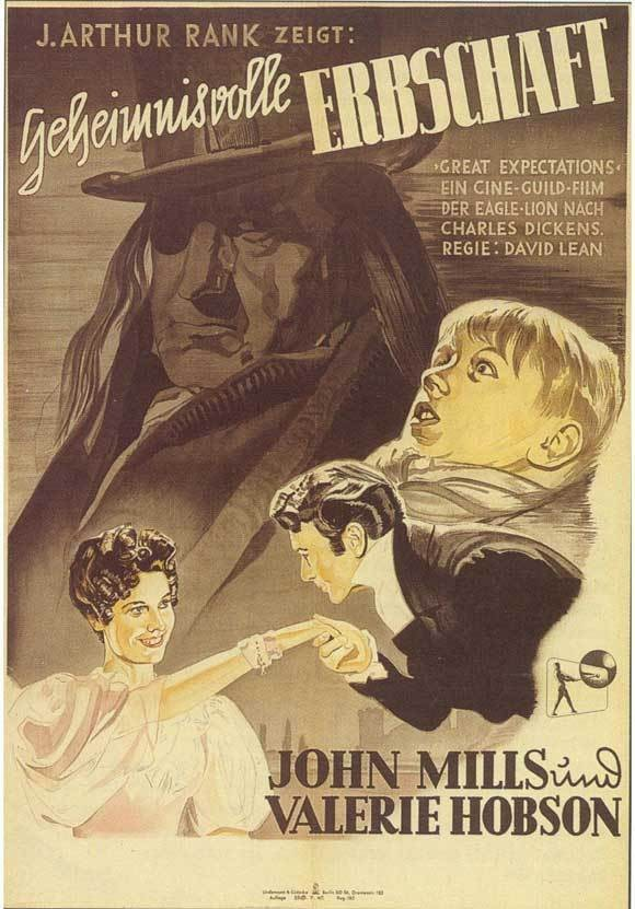 Great Expectations (1946) based on the novel by Charles Dickens, David Lean. John Mills Anthony Wager Jean Simmons. Изображение № 19.