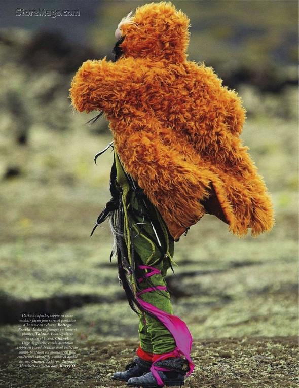 Съёмка: Наташа Поли для французского Vogue. Изображение № 3.