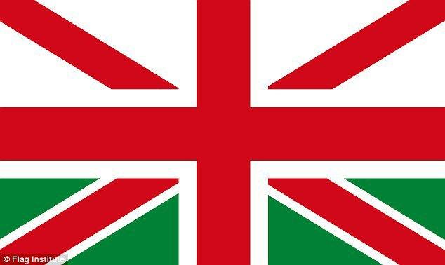 Financial Times предложила свою версию флага Великобритании. Изображение № 3.