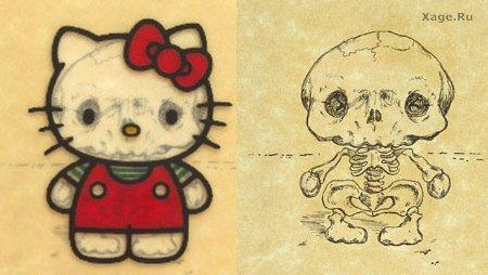 Скелеты мультяшек. Изображение № 6.
