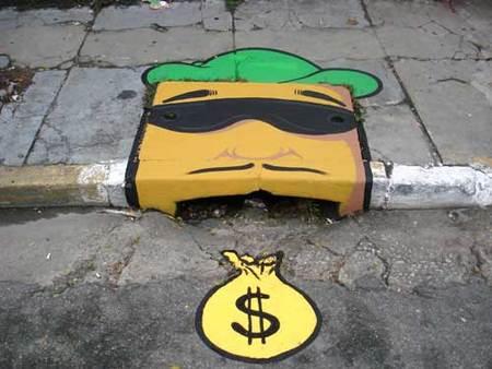 Уличные художники Сан-Пауло делают город веселее. Изображение № 26.