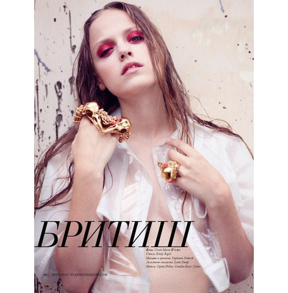 Новые съемки: Numero, Playing Fashion, Tangent и Vogue. Изображение № 10.