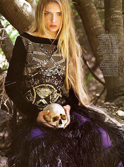 French 'Vogue': Devil Worship IsThe NewBlack!. Изображение № 1.