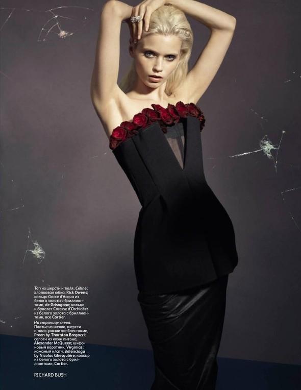 Съёмка: Эбби Ли Кершо для российского Vogue. Изображение № 5.