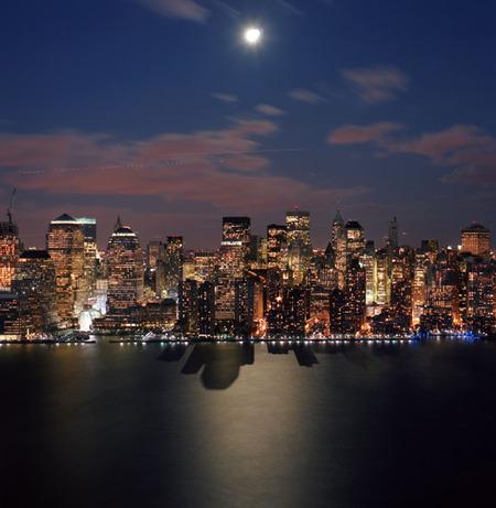 Мегаполисы ночью Гонконг, Дубаи, Нью-Йорк, Шанхай. Изображение № 17.