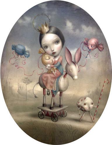 Nicoletta Cecolli [не]детские иллюстрации изИталии. Изображение № 1.