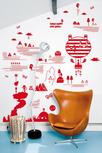 Необычайнийшие виниловые наклейки от французских дизайнеров. Изображение № 7.