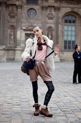 Нерабочее время: Блоги об уличном стиле моделей. Изображение № 24.