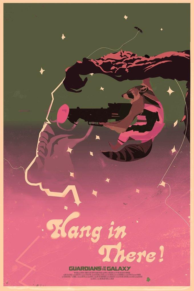 Опубликованы 44 фанатских постера к «Стражам Галактики». Изображение № 19.