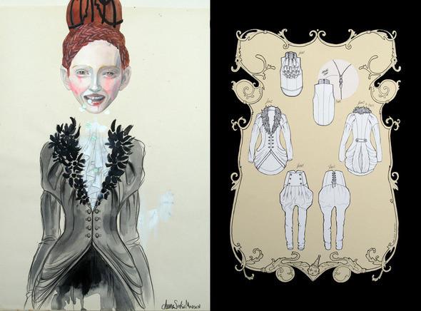 Изображение 4. Fashion-иллюстрационация от Anne Sofie Madsen.. Изображение № 4.
