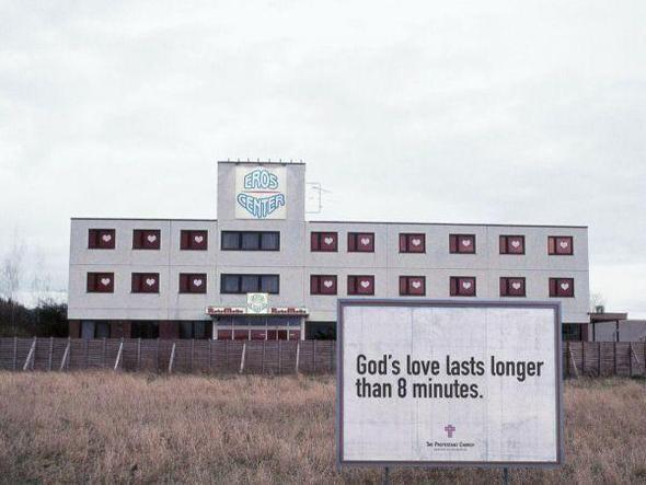 Изображение 2. Реклама против проституции.. Изображение № 1.