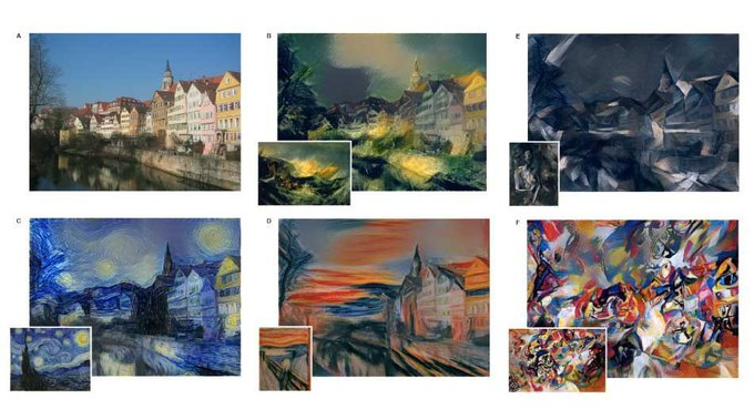 Нейронную сеть научили имитировать стили художников . Изображение № 1.