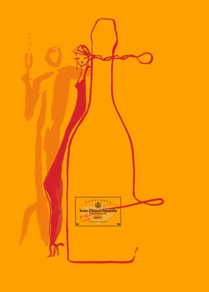 Картинки француской художницы дляVeuve Clicquot. Изображение № 1.