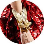 Кутюр в деталях: Перья, золото и бабочки на показе Giambattista Valli. Изображение № 16.