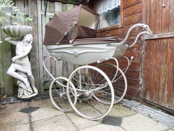 Ретро – kinderwagen, stroller илидетская коляска. Изображение №21.