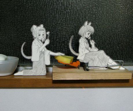 Фотоработы аниме избумаги. Изображение № 10.