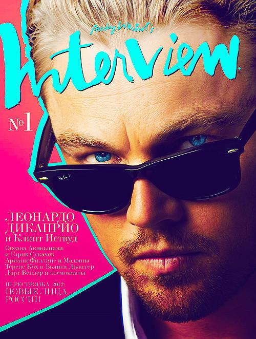 Содержание и авторы первого номера Interview Россия. Изображение № 1.