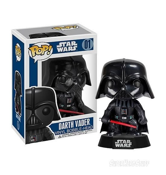 Star Wars POP Vinyl Bobble Head. Изображение № 2.