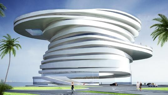 AbuDhabis Spiraling Helix Hotel. Изображение № 1.