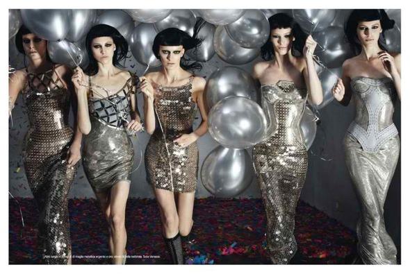 Versace FW 2012. Изображение № 3.