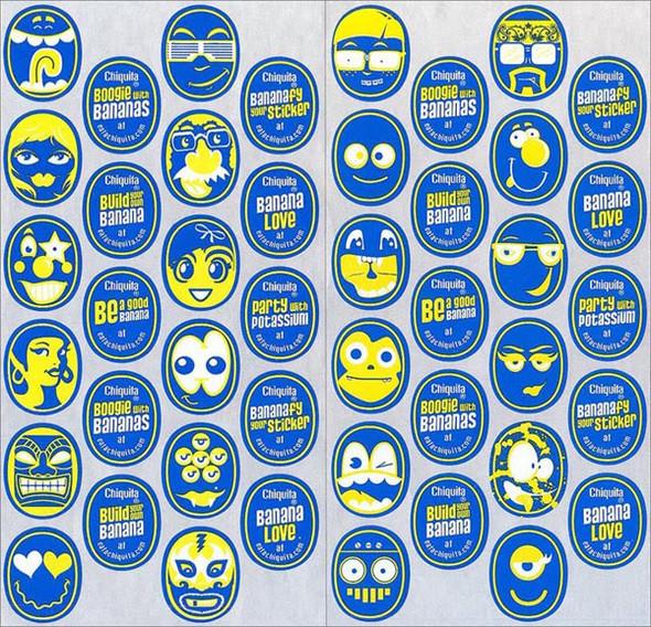 Chiquita: каждому банану - свое лицо. Изображение № 5.