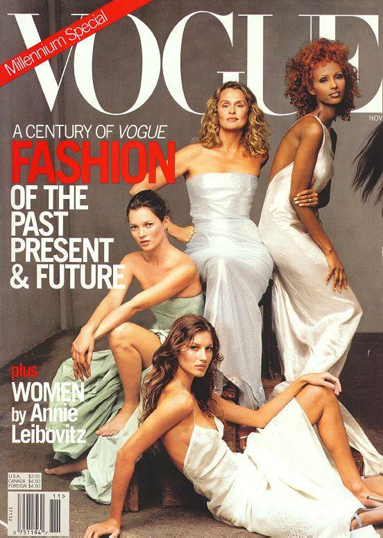 Кейт Мосс, наобложках главных модных журналов планеты. Изображение № 3.