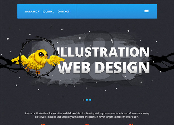 Персонажи в дизайне сайтов. Изображение № 37.
