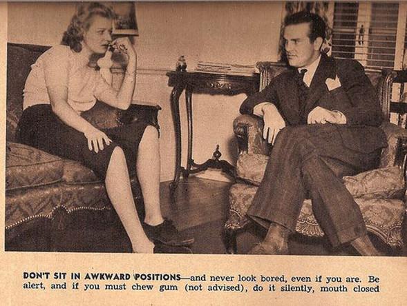 Как завоевать мужчину, вырезки из журнала 1938 года. Изображение № 4.