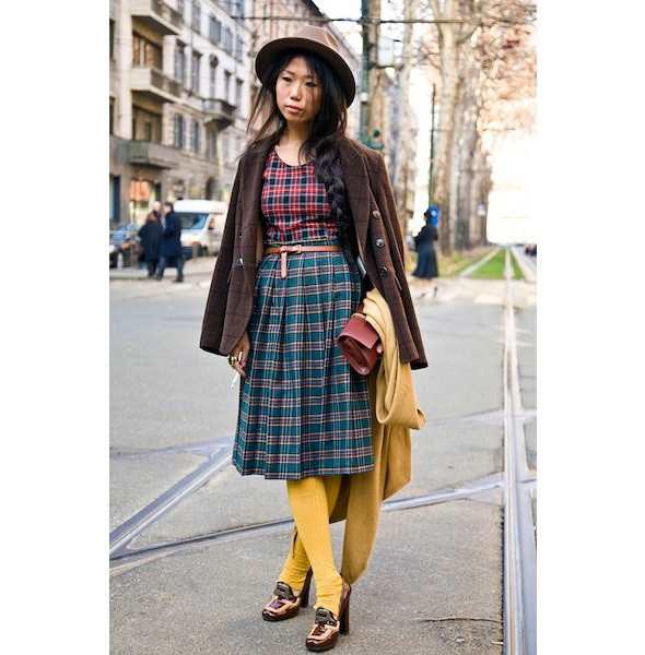 Изображение 14. На полях: 10 тенденций уличного стиля с прошедших недель моды.. Изображение № 14.