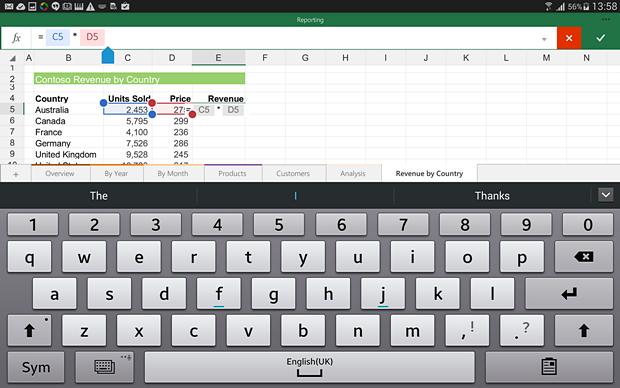 Office для планшетов на Android. Изображение № 3.
